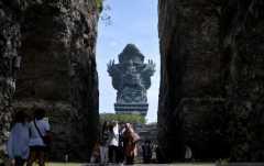 Kawasan wisata GWK Cultural Park buka kembali bagi kunjungan wisatawan